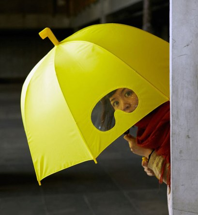 зонт глаза