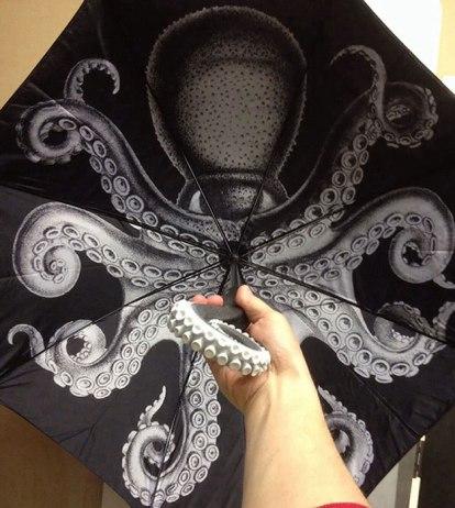 зонт осьминог